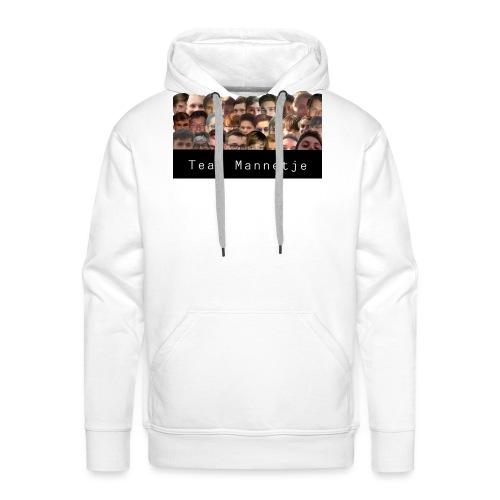 Team Mannetje - Mannen Premium hoodie