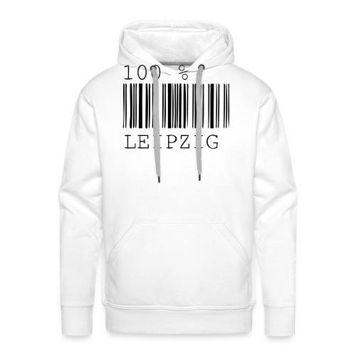 100 % Leipzig - Männer Premium Hoodie