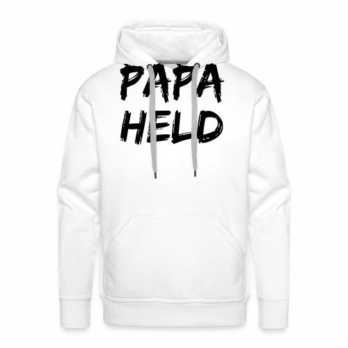 Papaheld - Männer Premium Hoodie