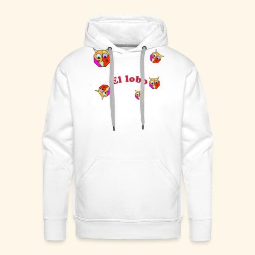 El lobo - Mannen Premium hoodie