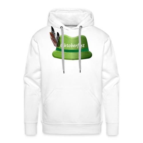Oktoberfest Filzhut - Männer Premium Hoodie