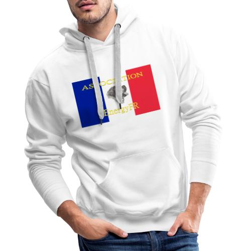 EnergyFR - Sweat-shirt à capuche Premium pour hommes