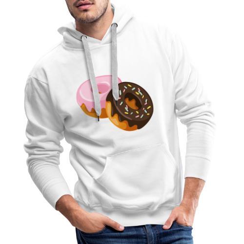 crazy donuts - Premiumluvtröja herr