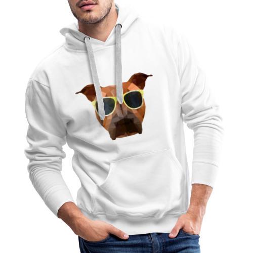Amy mit Sonnenbrille - Männer Premium Hoodie