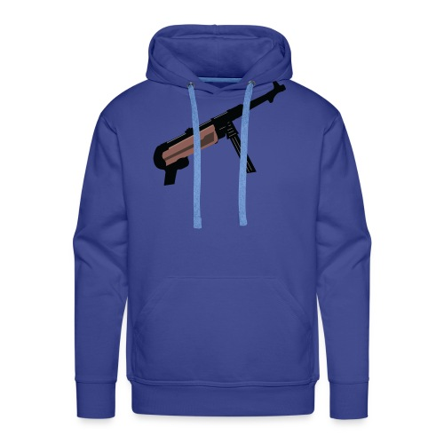 Mp40 german gun maschinenpistole 40 - Men's Premium Hoodie