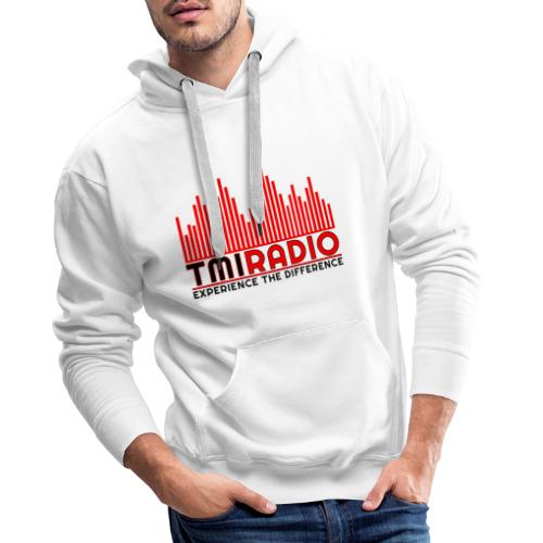 NEW TMI LOGO RED AND BLACK 2000 - Men's Premium Hoodie