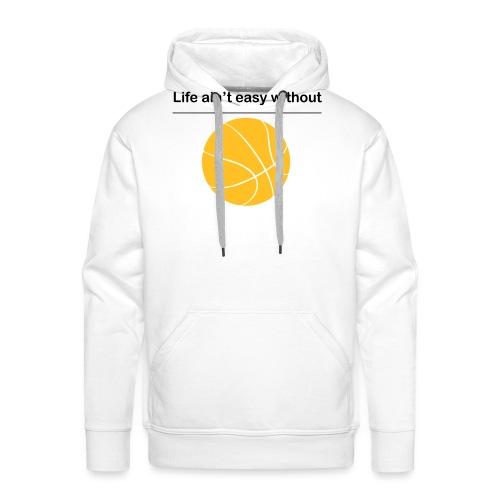 life_aint_easy - Männer Premium Hoodie