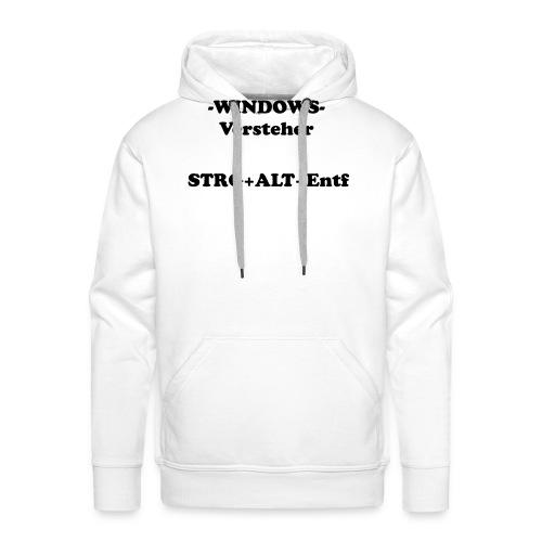 Windows Versteher - Männer Premium Hoodie