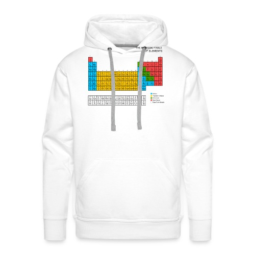 Periodic Table of elements - Men's Premium Hoodie