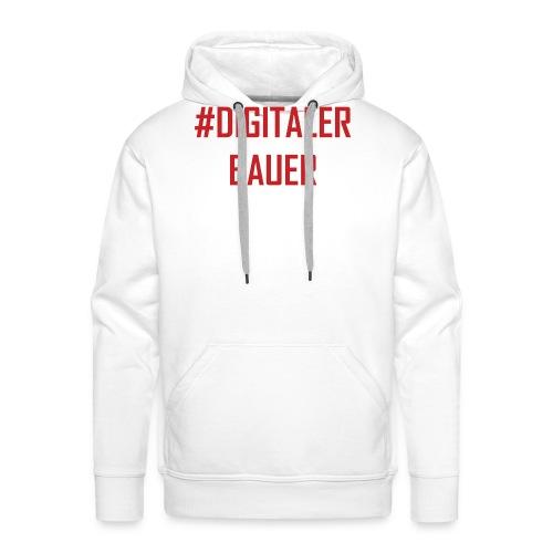 Digitaler Bauer - Trend nach Influencer und Nomade - Männer Premium Hoodie