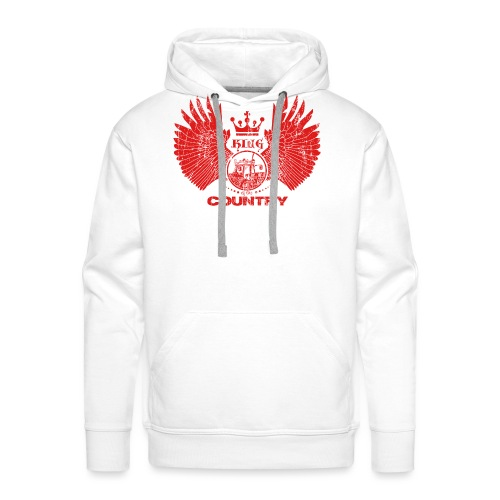 IH KING of the COUNTRY (Red design) - Mannen Premium hoodie