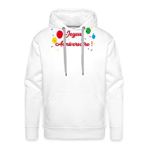 Anniversaire - Sweat-shirt à capuche Premium pour hommes