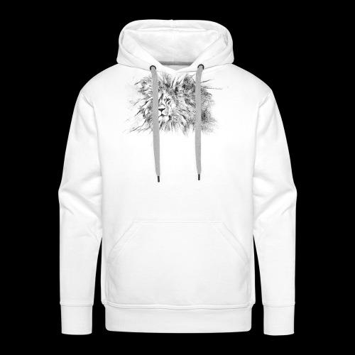 Le roi le seigneur des animaux sauvages - Sweat-shirt à capuche Premium pour hommes