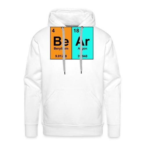 Science Bear Tee - Men's Premium Hoodie