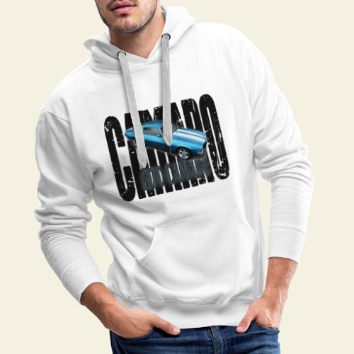 70 Camaro - Herre Premium hættetrøje