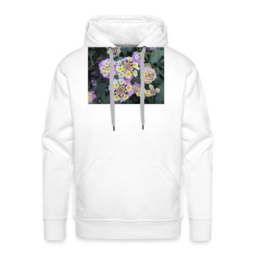 Flower power Nº8 - Sudadera con capucha premium para hombre