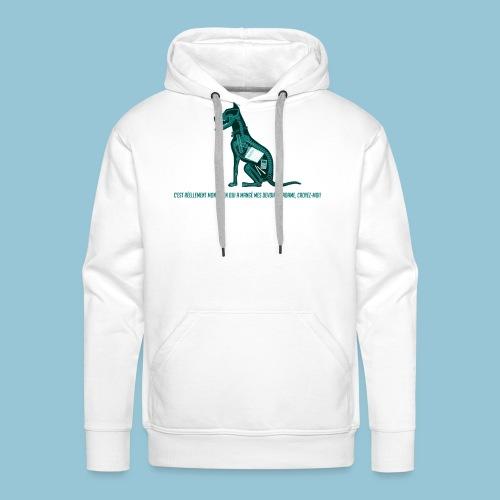 T-shirt pour homme imprimé Chien au Rayon-X - Sweat-shirt à capuche Premium pour hommes