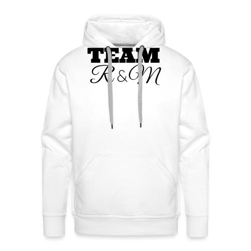 Snapback team r&m - Men's Premium Hoodie