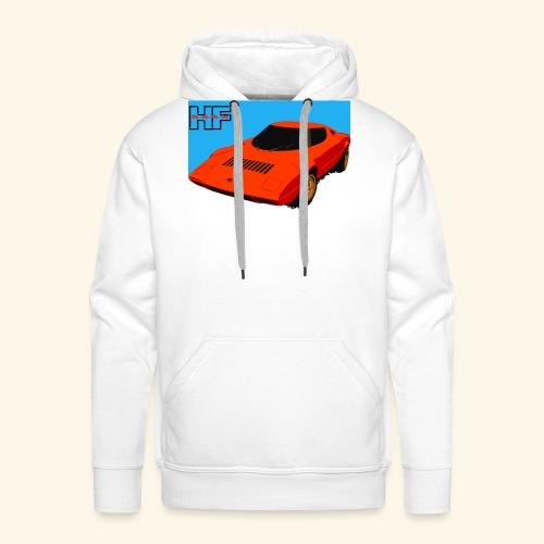 rally car - Men's Premium Hoodie