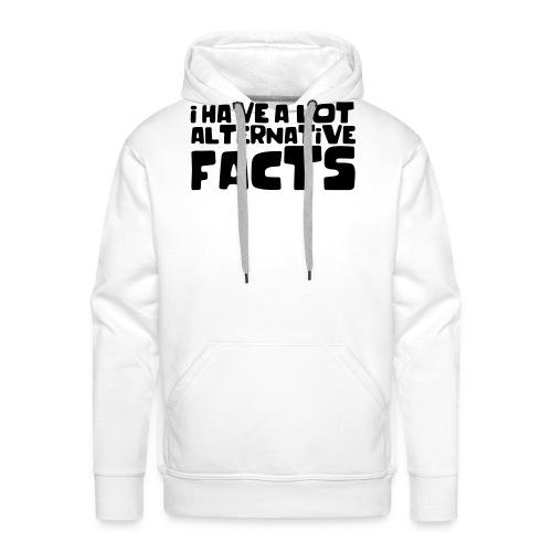 Alternative facts - Men's Premium Hoodie