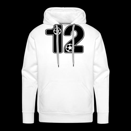foot numero 12 - Men's Premium Hoodie