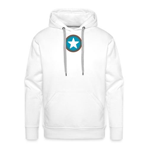 Étoile américaine. - Sweat-shirt à capuche Premium pour hommes