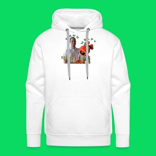 casquette manu et helfy - Sweat-shirt à capuche Premium pour hommes