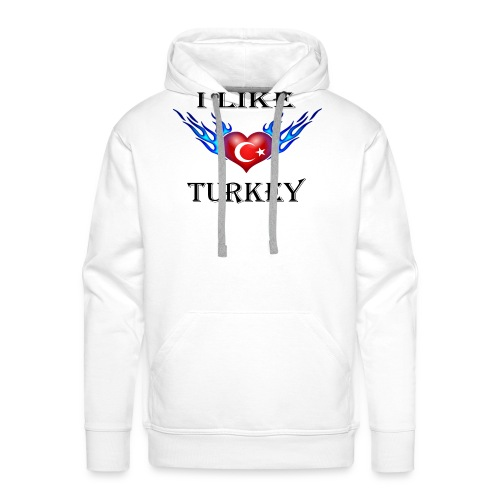 I Like Turkey - Männer Premium Hoodie