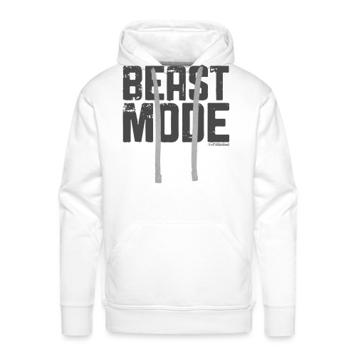 beastmode_logo - Men's Premium Hoodie