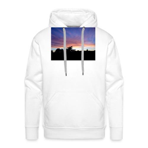 Sunset - Herre Premium hættetrøje