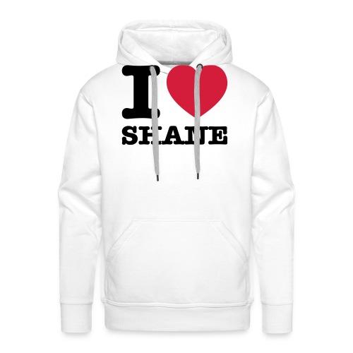I love Shane - Männer Premium Hoodie