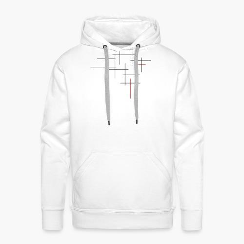 Str1ve simple lines - Mannen Premium hoodie