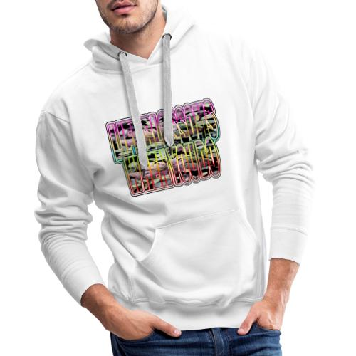 life blossoms when you do - Männer Premium Hoodie