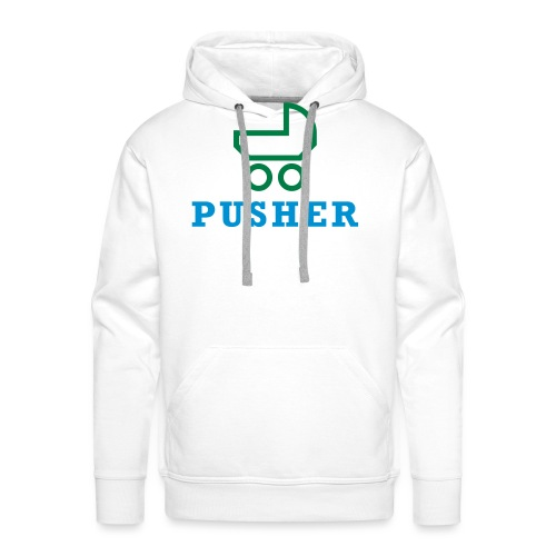 pusher_T-Shirt - Männer Premium Hoodie