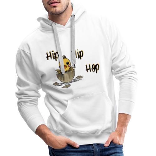 Küken Hip Hip Hop Ostern - Männer Premium Hoodie