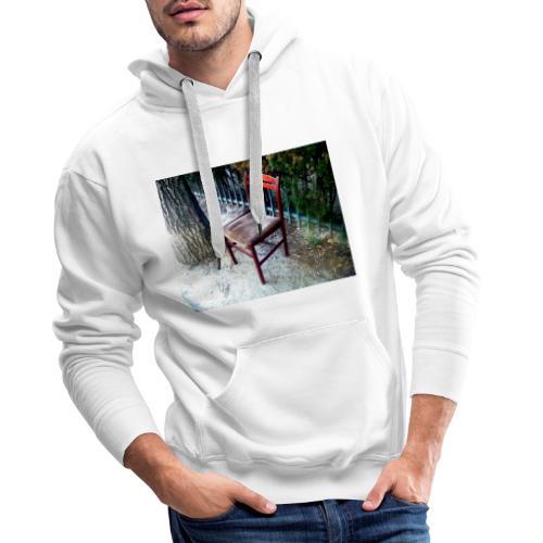 silla - Sudadera con capucha premium para hombre