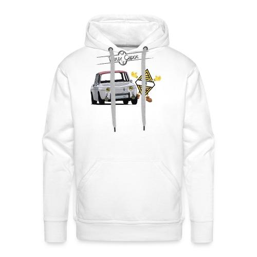 R8 - Sweat-shirt à capuche Premium pour hommes
