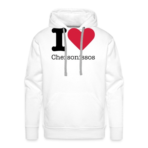 I Love Chersonissos - Mannen Premium hoodie