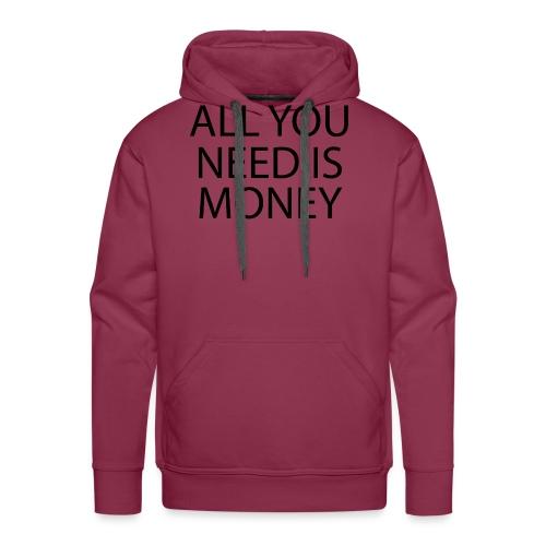 All you need is Money - Premium hettegenser for menn