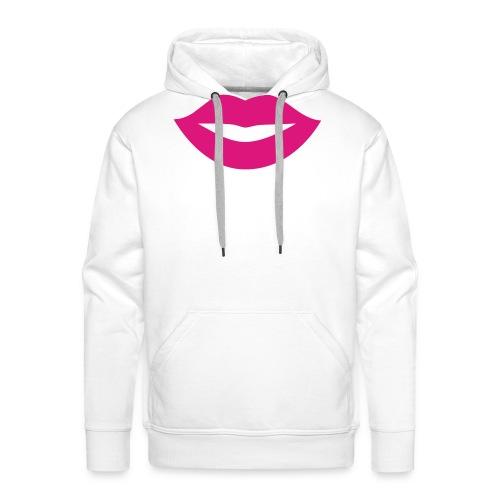 2000px-Lips_Silhouette-svg-png - Sweat-shirt à capuche Premium pour hommes