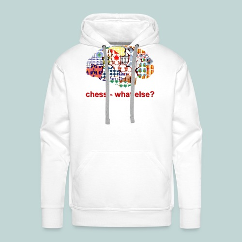 chess_what_else - Männer Premium Hoodie