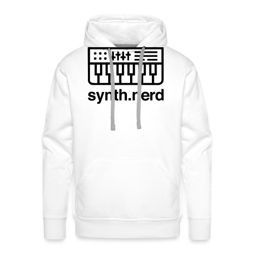 Synth Nerd - Men's Premium Hoodie