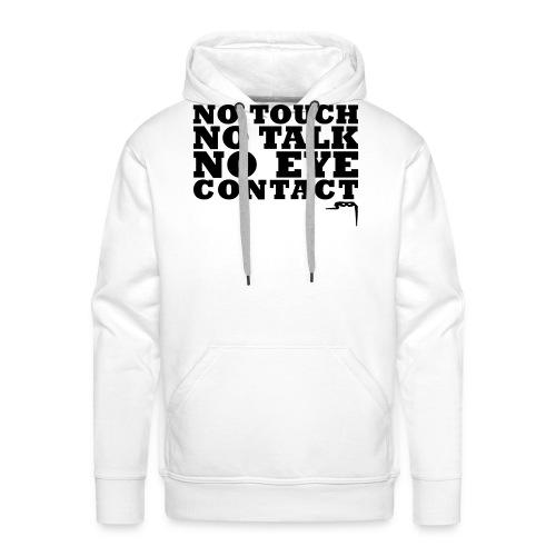 notouchtshirtkleincs2 - Mannen Premium hoodie