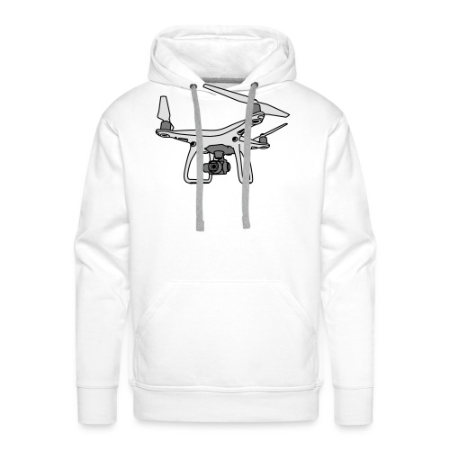 Drohne Phantom 4 - Men's Premium Hoodie