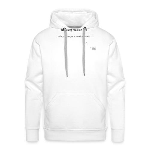 REQUIEM - Sweat-shirt à capuche Premium pour hommes