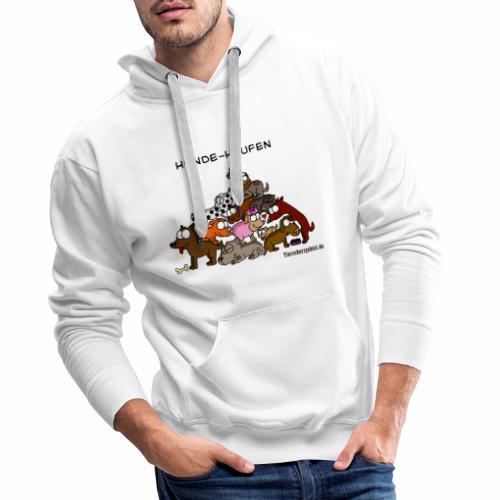 Hundehaufen - Männer Premium Hoodie