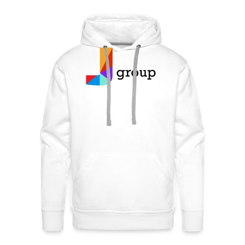 J Group - Felpa con cappuccio premium da uomo