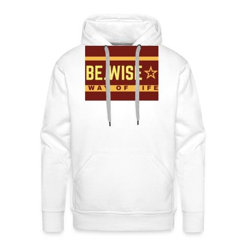 Cool slogan - Sweat-shirt à capuche Premium pour hommes