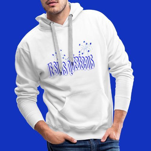 JE SUIS QUÉBÉCOIS - Sweat-shirt à capuche Premium pour hommes