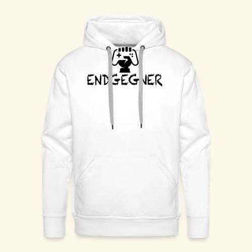 Endgegner Konsole zocken online twitch gamer - Männer Premium Hoodie